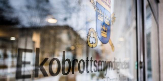 Niklas Ahlgren, pressansvarig på Ekobrottsmyndigheten, vill inte säga om en utredning är startad eller inte. Foto: Magnus Hjalmarson Neideman/SvD/TT.