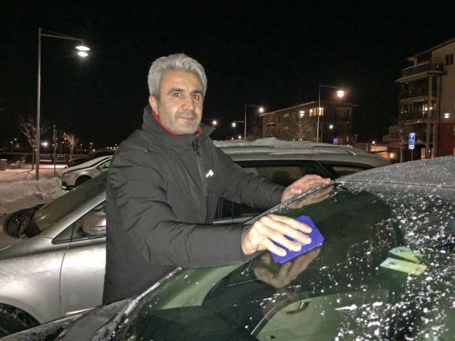 Osman Yilmaz tog i december över skybaren men fick en tuff start i somras lades restaurangen ut till försäljning på Blocket.