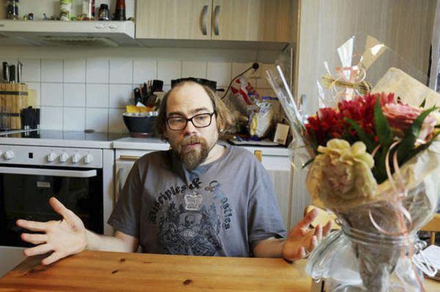 Christian Andrén vill skriva en bok om sitt liv. Foto: Simon Ridell.
