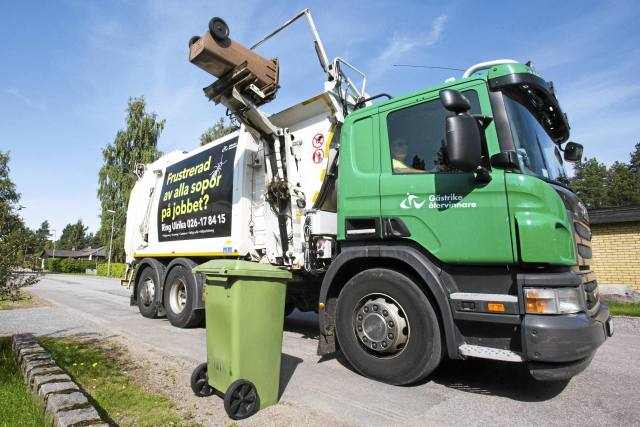 Gästrike återvinnare sköter sophanteringen i Gävle, Sandviken, Ockelbo, Hofors och Älvkarleby kommuner.