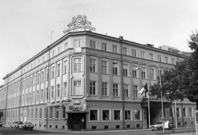 1 januari 1988: Grand Central Hotellet. Bild: Gunnar Sundberg.