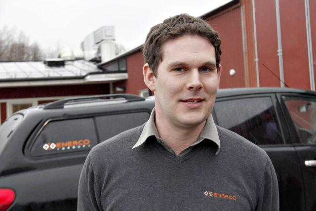 Niklas Pettersson, vd för Enerco.