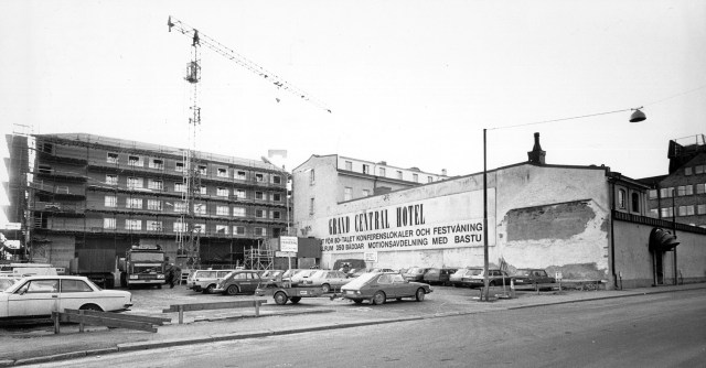 7 december 1982: Exteriör. Bild: Lasse Halvarsson.