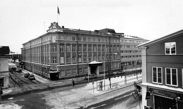 23 februari 1978: Exteriör. Bild: Leif Jäderberg.