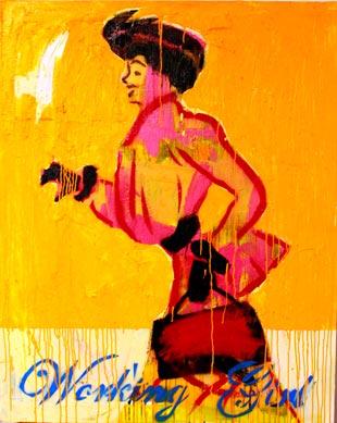 """""""Working girl"""" von Nina Maron"""