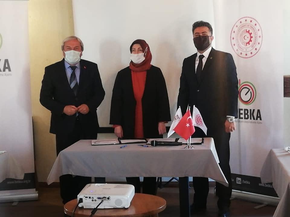 Osmaneli'nde 2 milyon lira hibe destekli projenin tanıtımı yapıldı