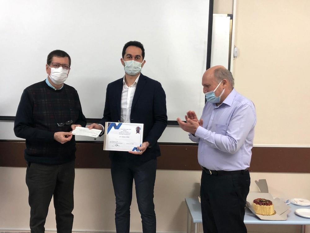 Op. Dr. Tankut Uzun, Dr. Osman Mamikoğlu Otoloji ödülünün bu yılki sahibi oldu