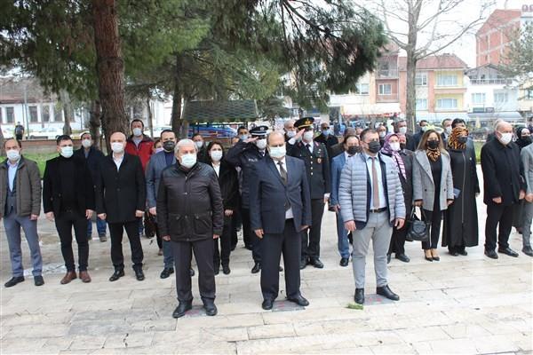 Osmaneli'nde Çanakkale Zaferi'nin 106'nci yıl dönümü kutlandı