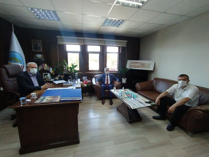İl Müdürü Çırak'tan Başkan Şahin'e ziyaret