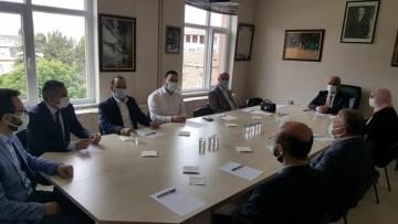 İlçe müftüleri toplantısı Yenipazar'da yapıldı