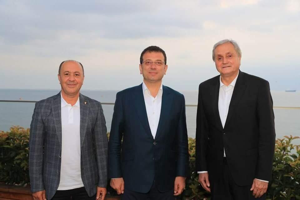 Başkan Bakkalcıoğlu İBB Başkanı İmamoğlu ile bir araya geldi