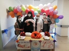 Bilecik Eğitim ve Araştırma Hastanesinde emzirme standı açıldı