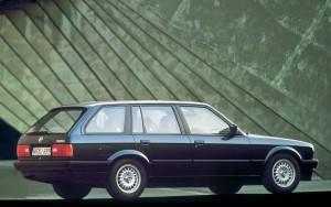 En flot stationcar, som først kom til modelserien halvvejs i levetiden.