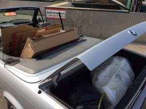 En gammel cabriolet er skam praktisk nok!