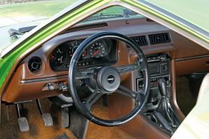 Kabinen - her en Serie 1-model - er funktionel og tidstypisk.