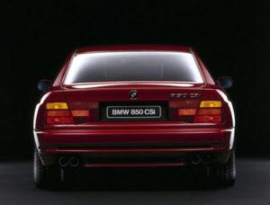 Biler i Blodet, BMW 850 CSi