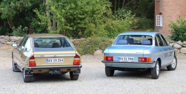 Citroen CX og NSU RO80