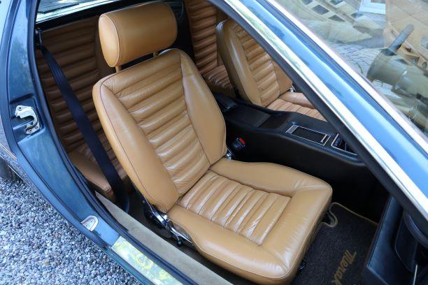 Maserati Merak interiør