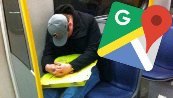 Google Haritalar ile durağınızı kaçırmaya son!