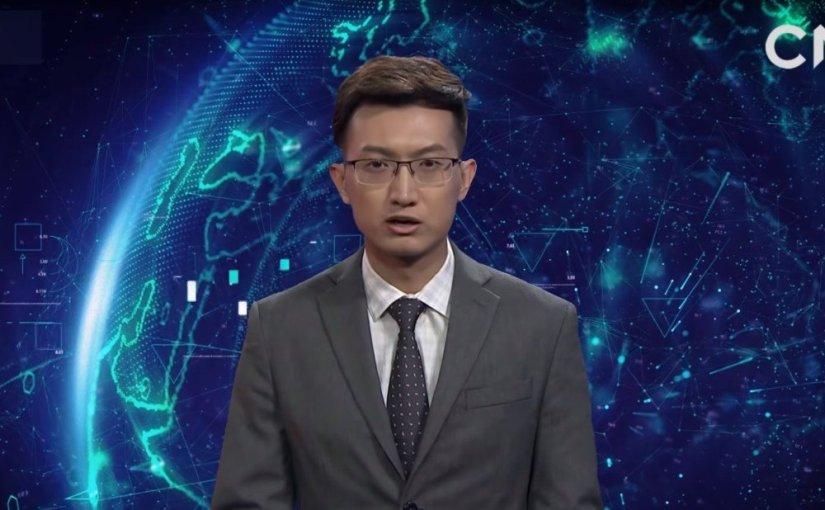 Çinli Yapay Zeka, Haber Sunuculuğu Yapıyor
