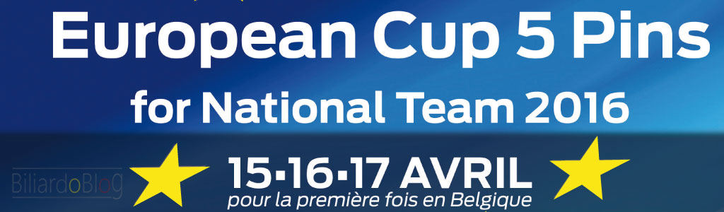 Il Campionato Europeo di Biliardo a Squadre 2016