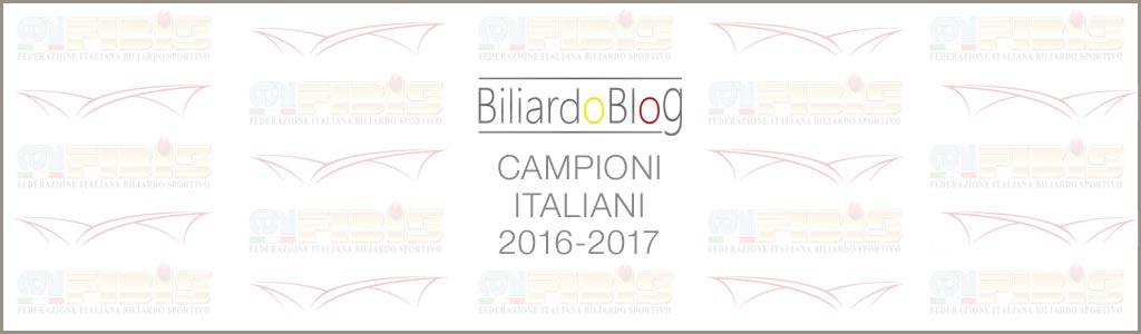 Campione Italiano Biliardo 2017