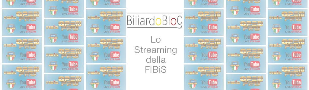Biliardo in Streaming su FIBiS Tv