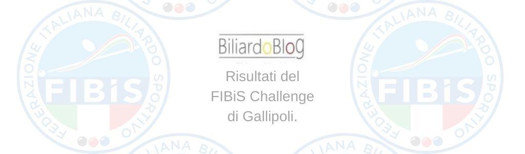 Risultati Seconda Tappa FIBiS Challenge 2019 2020