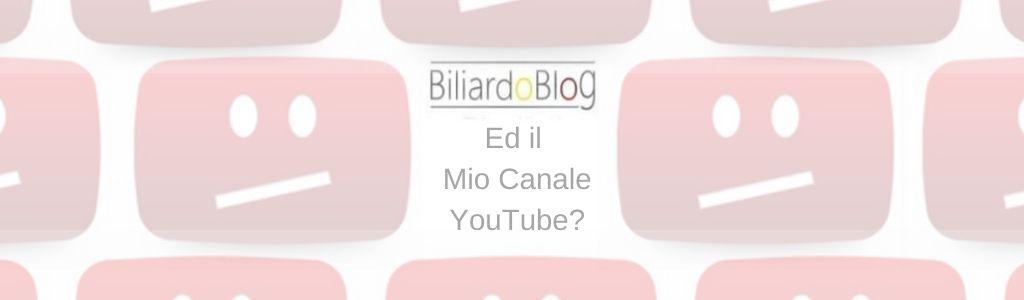 Canale YouTube di Biliardo