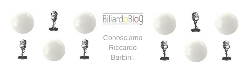 Riccardo Barbini: intervista