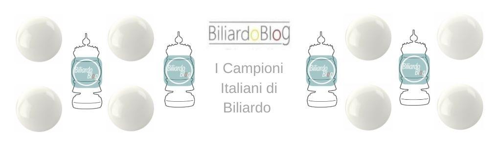 Campione Italiano di Biliardo 2019 2021