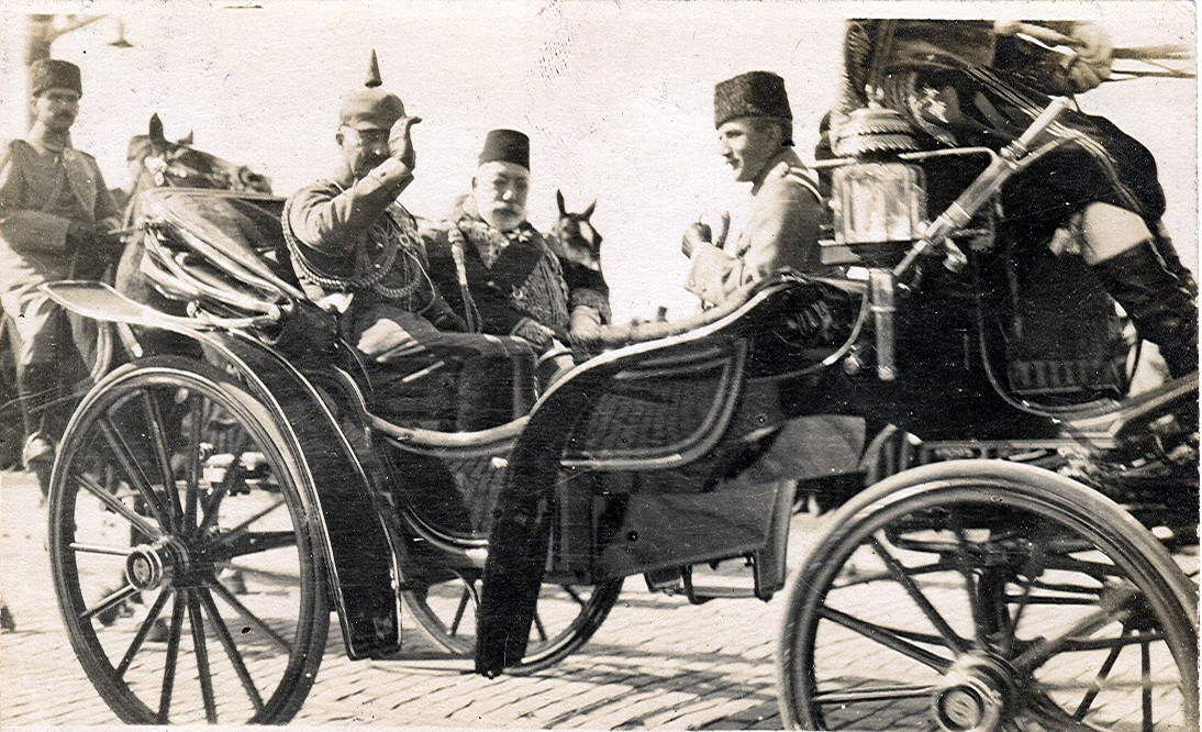 Sultan Reşat ve Kaiser II. Wilhelm