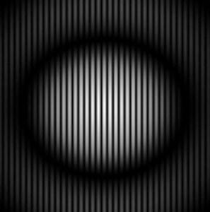 1. Şekil: Girişim çizgileri (gerçek fotoğraf) [ii]