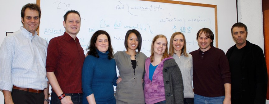 (Left to Right) Kay, Brad, Sarah, Mirta, Jeanne, Laura, Shane, Luis
