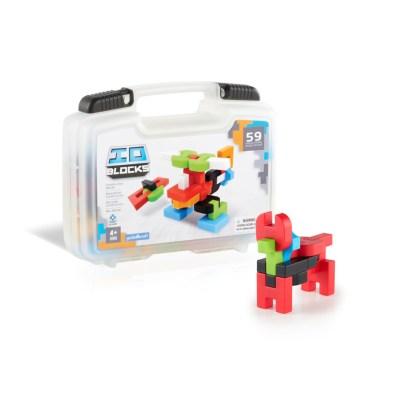 Guidecraft IO Blocks® 59 Piece Travel Set