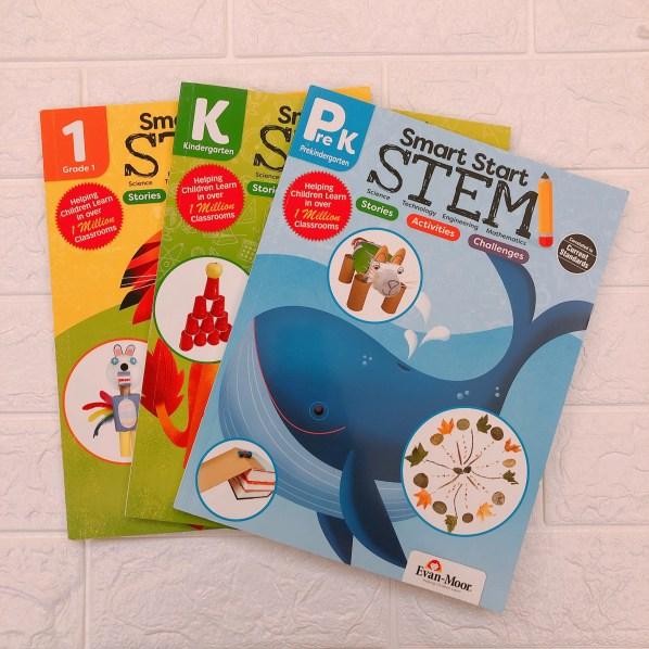 👉預覽完整內頁:Smart Start: STEM, Grade PreK