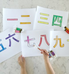 Chinese Characters for Kids - Teaching Simple Chinese Characters [ 2811 x 3877 Pixel ]