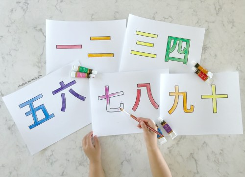 small resolution of Chinese Characters for Kids - Teaching Simple Chinese Characters