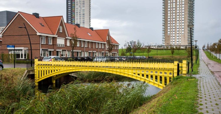 Spijkenisse euro note bridge