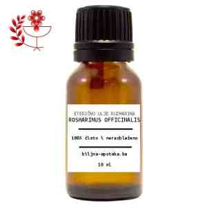 Rosmarinus officinalis Eterično ulje