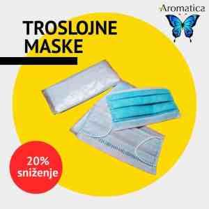 Troslojne maske za lice Aromatica