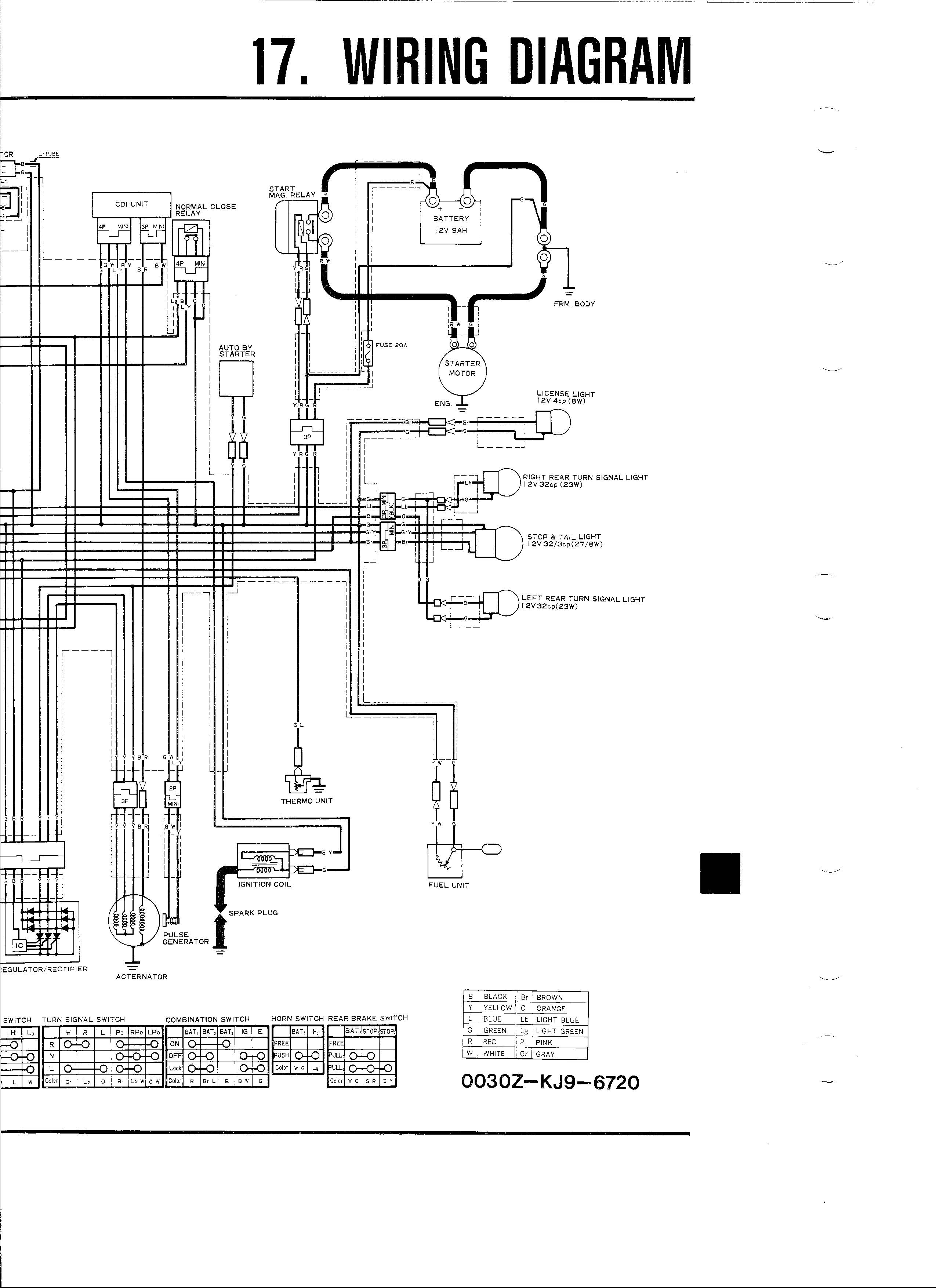 Titan Motorcycle Wiring Diagram Auto Electrical Honda Ch125 26 Images
