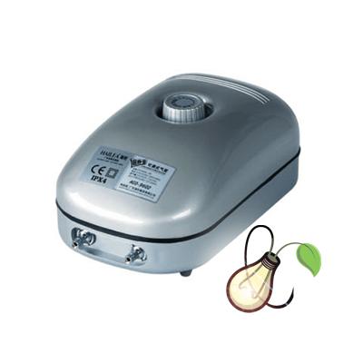 HAILEA ADJUSTABLE AIR PUMP ACO9602 – 432L/HR 2 4MM OUTPUT