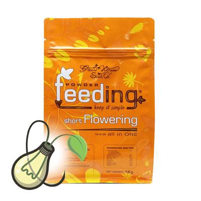 Green house powder feeding