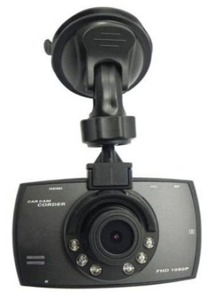 Scosche HD DVR Dash Camera Digital video recorder car camera can record the image with the pixel as high as 1080x720P full HD