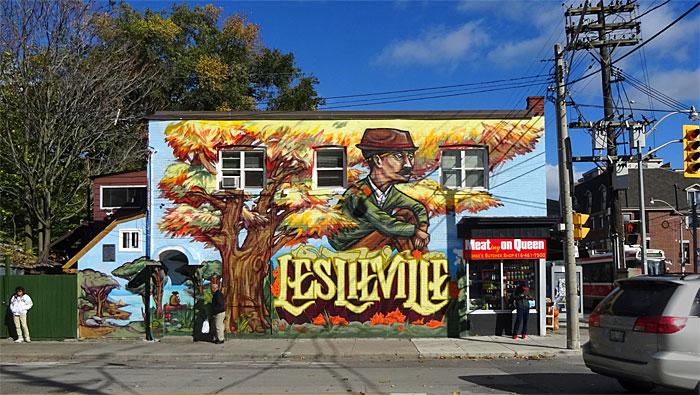 leslieville-mural