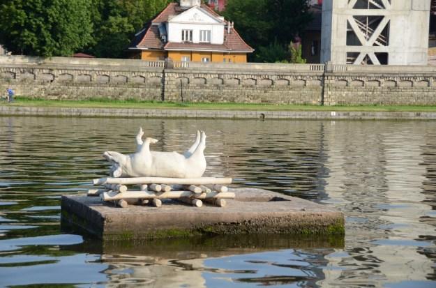 Krakow - pork on the Danube