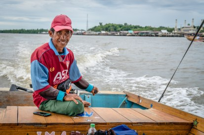 Taxi Captain Water Village Brunei