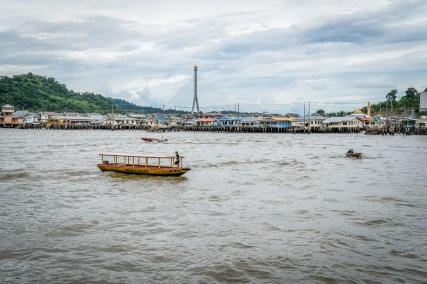 Bridge at Kampong Ayer Water Village