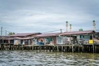 Homes at Kampong Ayer Water Village
